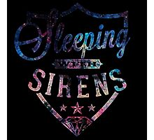 Sleeping with Sirens Logo Photographic Print