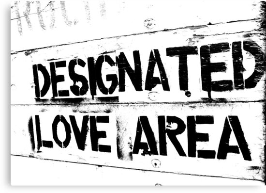 Designated love area by heinrich