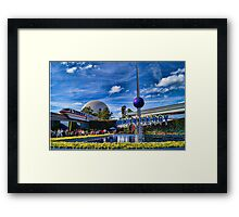 Universe of Energy at Epcot Framed Print