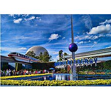 Universe of Energy at Epcot Photographic Print