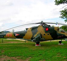 Russian.helicopter_Military.park_town.Zanka_Hungary_Europe2010Aug. by ambrusz