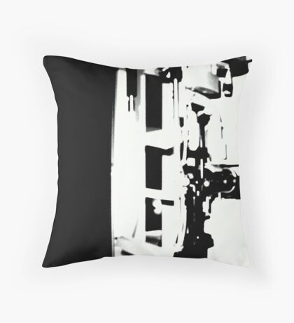 Black 'n White Handle on the Situation © Throw Pillow