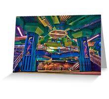 Living Seas Pavilion at Epcot Greeting Card