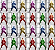 Rainbow Elvis 2 by addyreck