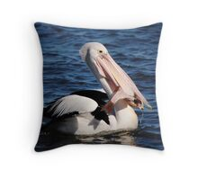 Big Catch >> Throw Pillow