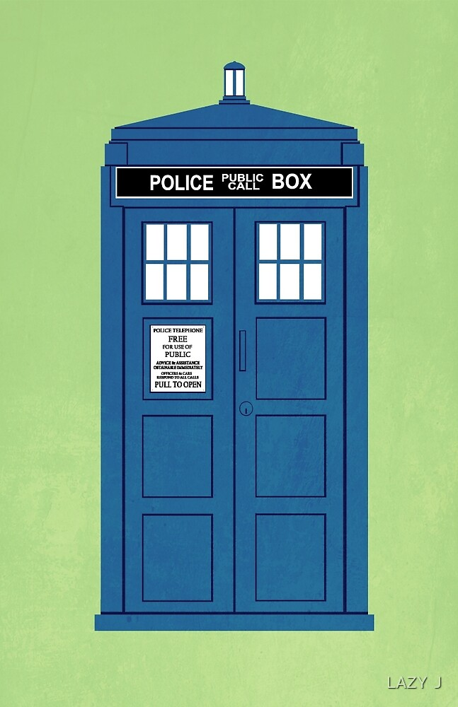DOCTOR WHO. by John Medbury (LAZY J Studios)
