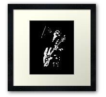 There is only one god...... Framed Print