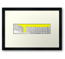 Park Hill - Yellow Framed Print