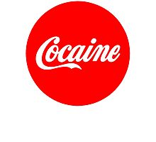 Cocaine Photographic Print