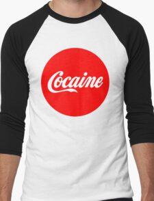 Cocaine Men's Baseball ¾ T-Shirt