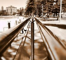 Along the Rail - Manly Beach by Step9