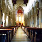 Cathedral Aisle by Julie Sleeman