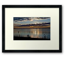 Sunrise in Digby - Nova Scotia Framed Print