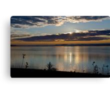 Sunrise in Digby - Nova Scotia Canvas Print