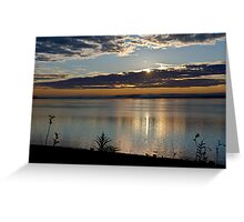 Sunrise in Digby - Nova Scotia Greeting Card