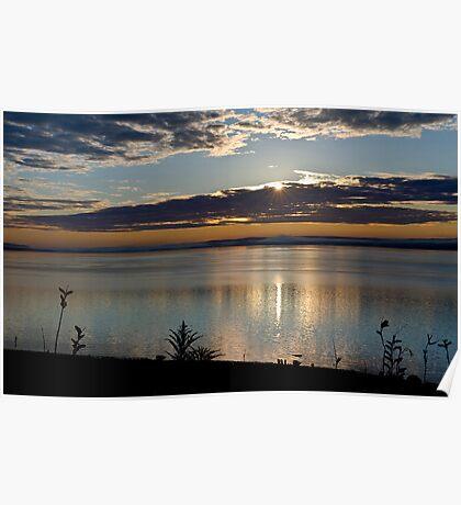 Sunrise in Digby - Nova Scotia Poster