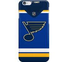 St. Louis Blues Home Jersey iPhone Case/Skin