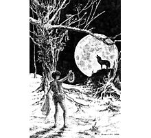 The Wolves Are Running Photographic Print
