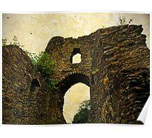 Launceston Castle (Castle Terrible), Cornwall, UK Poster