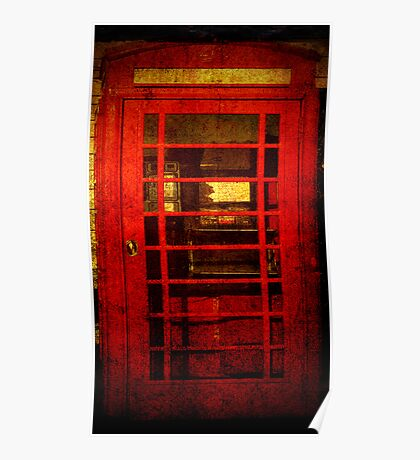Telephone Box - unhinged Poster