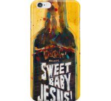 Sweet Baby Jesus by DuClaw Brewing Beer iPhone Case/Skin