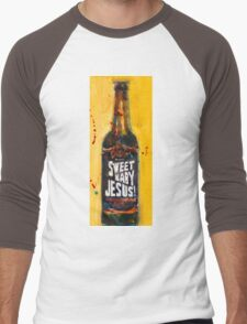 Sweet Baby Jesus by DuClaw Brewing Beer Men's Baseball ¾ T-Shirt