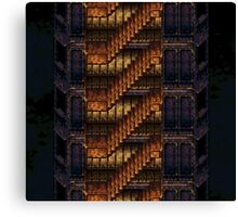 Final Fantasy VI - The Cult of Kefka's Tower Canvas Print