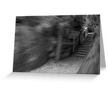 Stairway to Oblivion Greeting Card