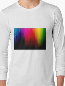 colors rainbow Long Sleeve T-Shirt