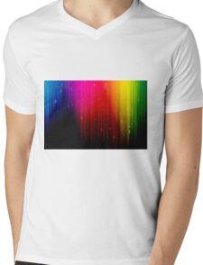 colors rainbow Mens V-Neck T-Shirt