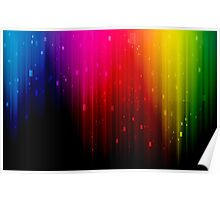 colors rainbow Poster