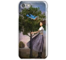 A Bluebird's Song iPhone Case/Skin