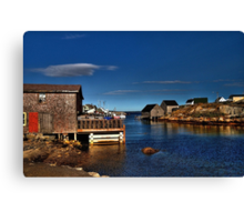 Peggy's Cove (2) Canvas Print