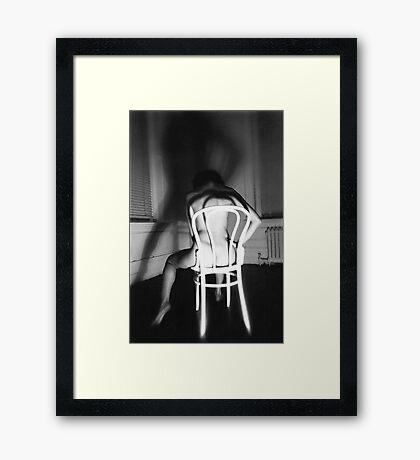 The Demon Framed Print