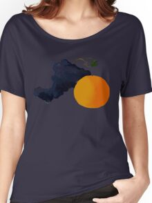 Grapes and Oranges. Women's Relaxed Fit T-Shirt