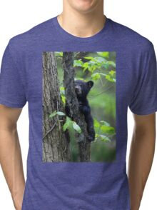 Black Bear Cub Tri-blend T-Shirt