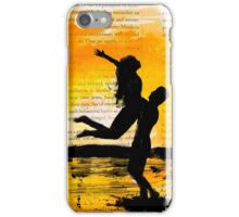 Couple Silhouette  iPhone Case/Skin