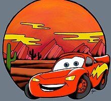 Lightning McQueen by Cheyne Gallarde