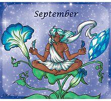 September Zodiac Photographic Print