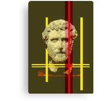 Pixel art: Rome Canvas Print