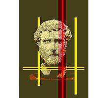 Pixel art: Rome Photographic Print