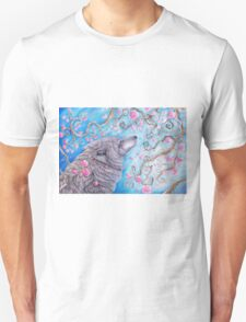 Cherry Blossom Wolf T-Shirt