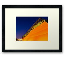 Imagination Pavilion Pyramid Framed Print