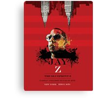Jay-Z poster Canvas Print