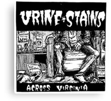 Urine Stains Canvas Print