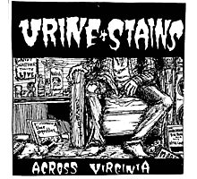 Urine Stains Photographic Print
