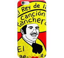 Vicente Fernandez Mexico Pop Folk Art iPhone Case/Skin
