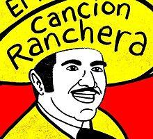 Vicente Fernandez Mexico Pop Folk Art by krusefolkart
