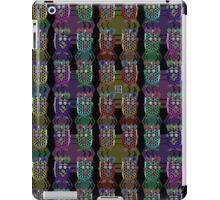 """""""NanoFam with Hexagons""""© iPad Case/Skin"""
