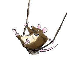 Swinging Mouse by Jennifer Kilgour